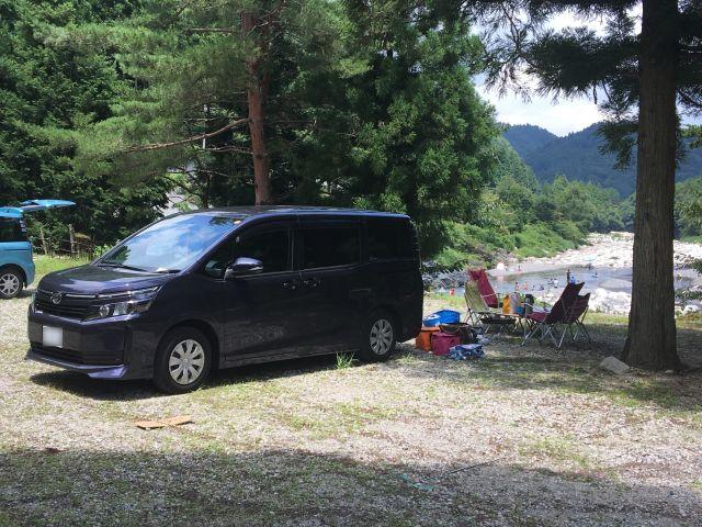 川遊び@もみじの里松原オートキャンプ場