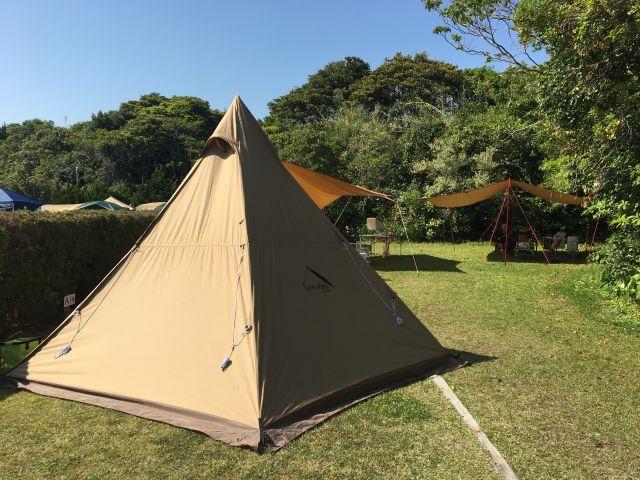 GWキャンプ@御座白浜 観光農園キャンプ村