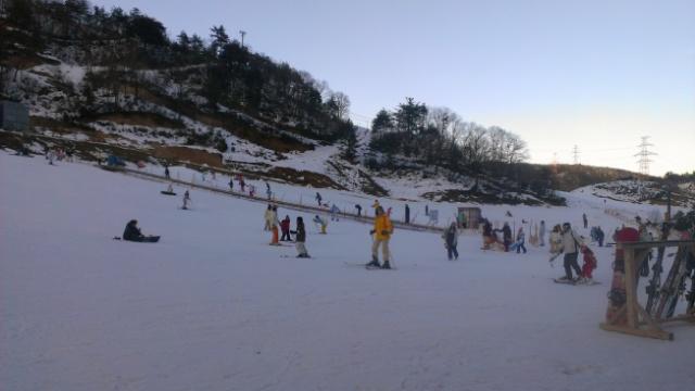 今シーズンの初スキーなう