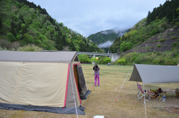 GWキャンプ@麻那姫湖(5/2~6)その4