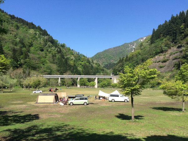 GWキャンプ@麻那姫湖(5/2~6)その5