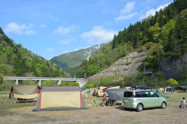 GWキャンプ@麻那姫湖(5/2~6)その3