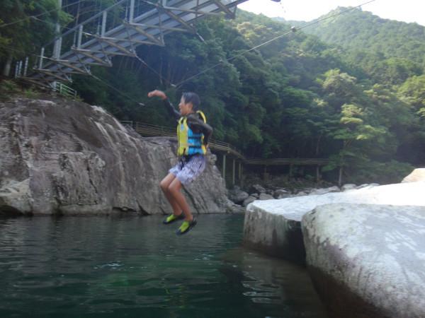 キャンプinn海山にて川キャンプ(2日目)