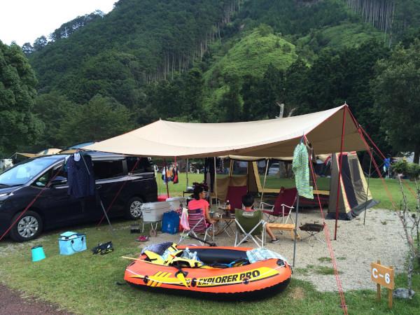 川遊びキャンプ@キャンプinn海山