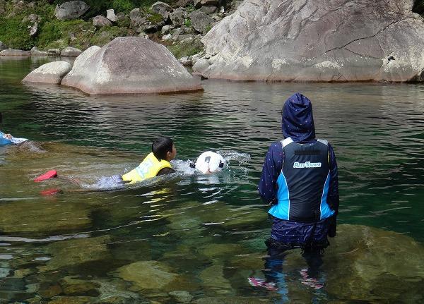 またまた川キャンプ@キャンプinn海山