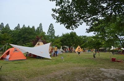 キャンプ結婚式inグリーンパーク山東、その1