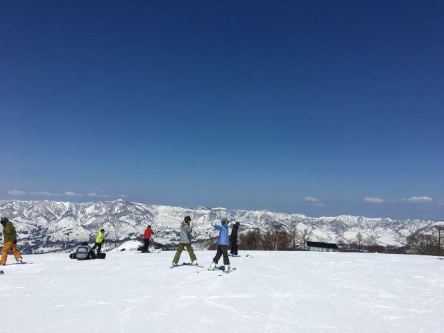 2017春スキー@野沢温泉スキー場その3
