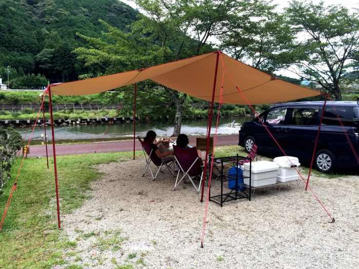 夏のはしごキャンプ初日@キャンプイン海山
