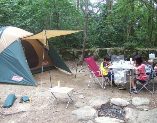 思い立ってキャンプ、D's woodへ