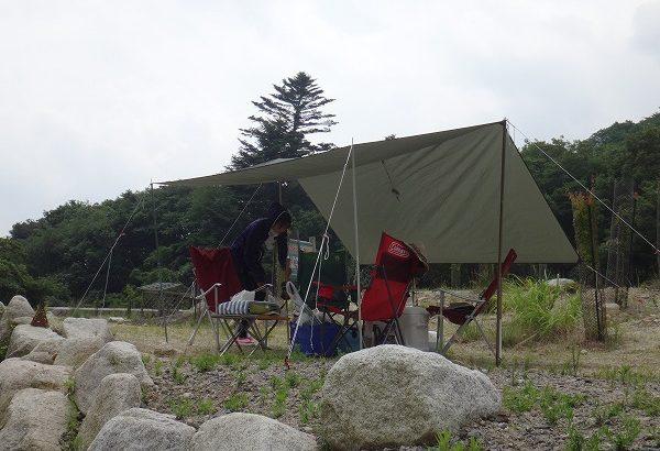 川キャンプ@八風キャンプ場(その6)