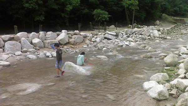 川キャンプ@八風キャンプ場(その3)