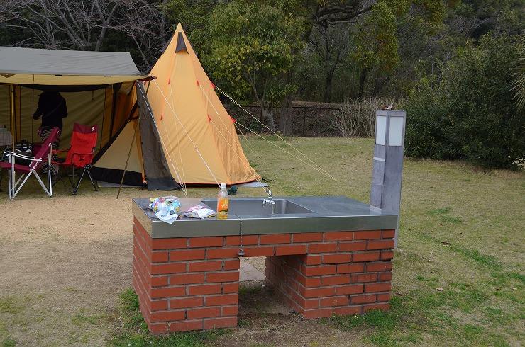 春キャンプ@東かがわ市大池AC、その2