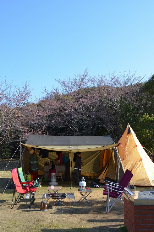 春キャンプ@東かがわ市大池AC、その4