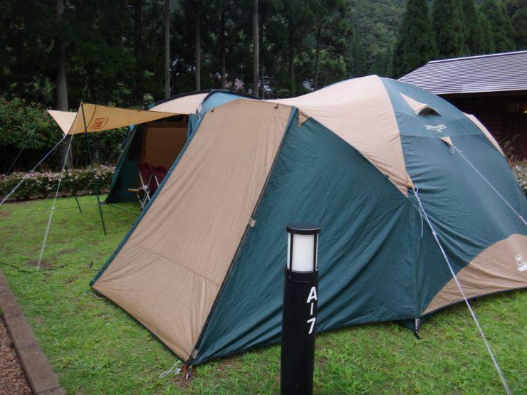 大見いこいの広場での、夏の終わりキャンプ(9/14-15)2日目!