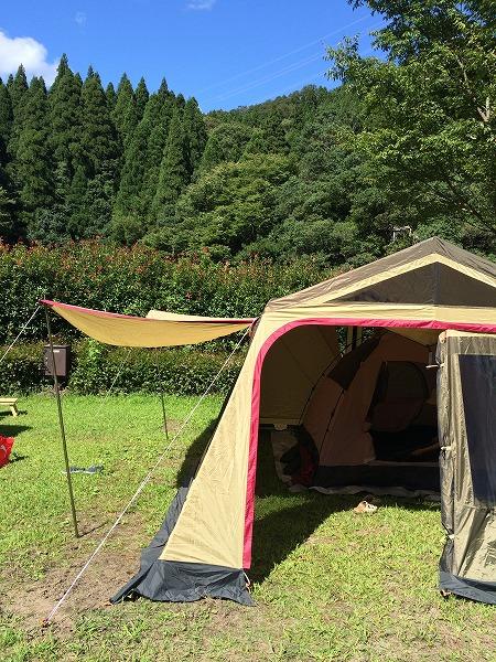 今年最後の川キャンプ@大見いこいの広場