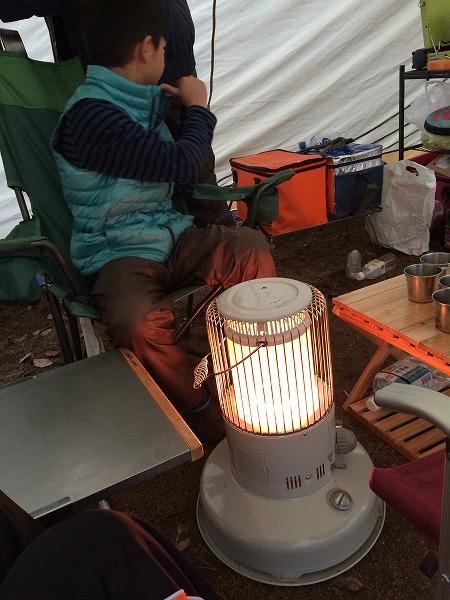 初張りキャンプ@十二坊温泉ゆらら(12/13~12/14)その3