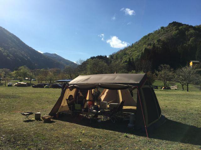 2017GWキャンプ@まなひめ二日目