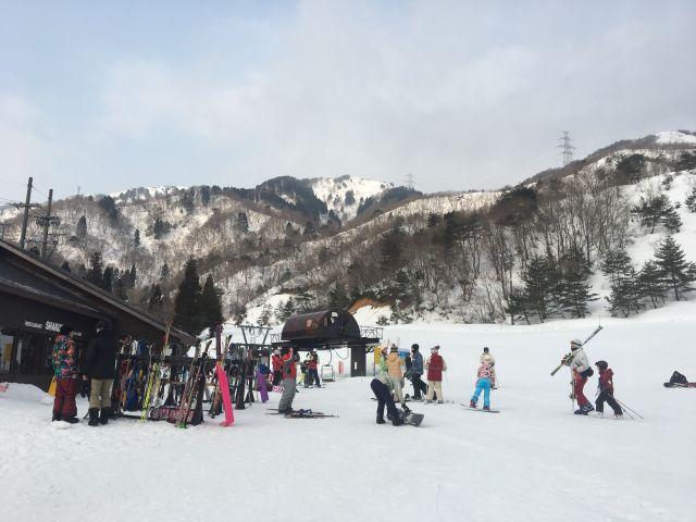 今年3度目のスキー@国境高原スノーパーク