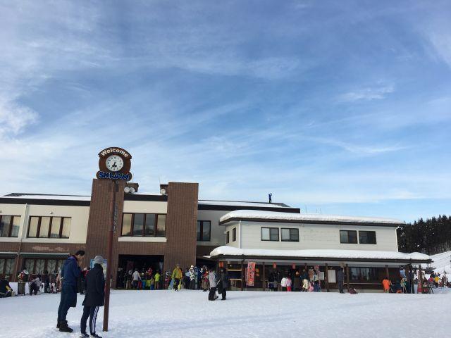 新春スキー@スキージャム勝山in福井