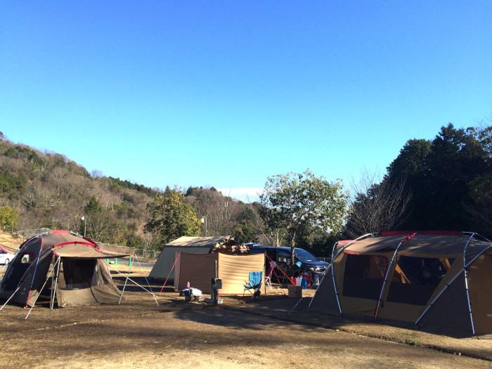 2015年の年末キャンプ