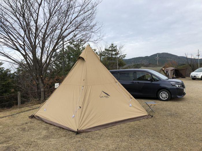 くつわ池にて年末キャンプ1部