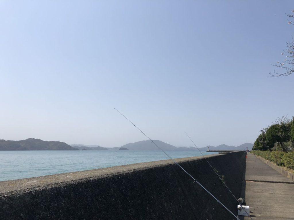 春の投げ釣りin小浜(2019/4/6)