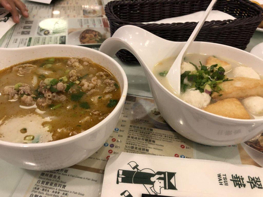 翠華餐廳(朝食)~トラム乗車(香港最終日)