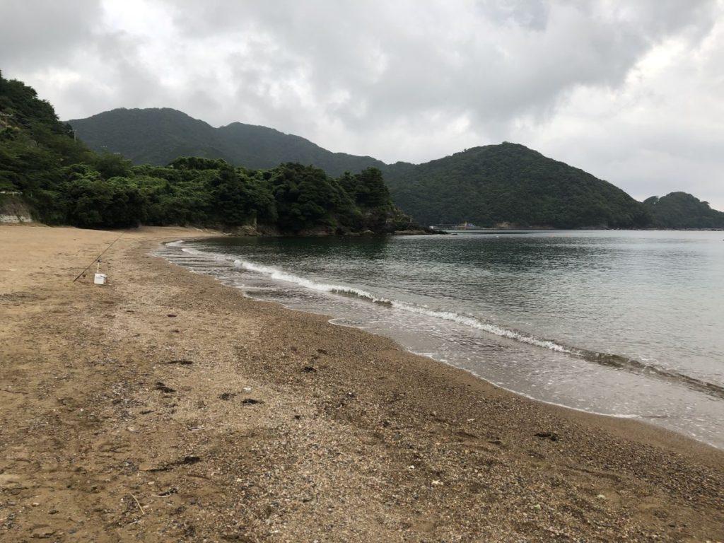 小浜にてキス釣り(2019/7/6)
