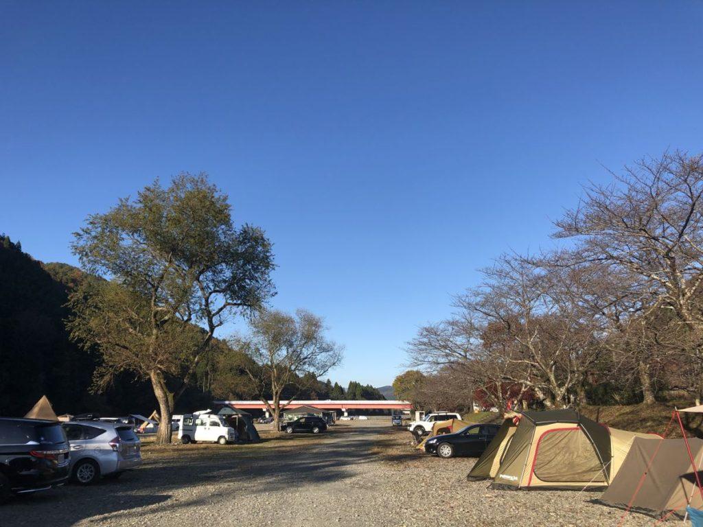 晩秋キャンプ in 桑野橋河川公園(朽木キャンプ場)