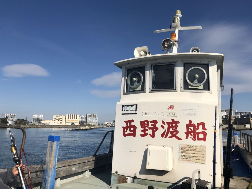 タチウオワインドin武庫川一文字(2019/12/1)