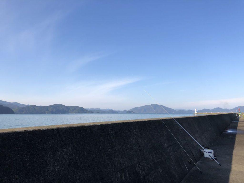 釣り納め in 小浜(2019/12/22)