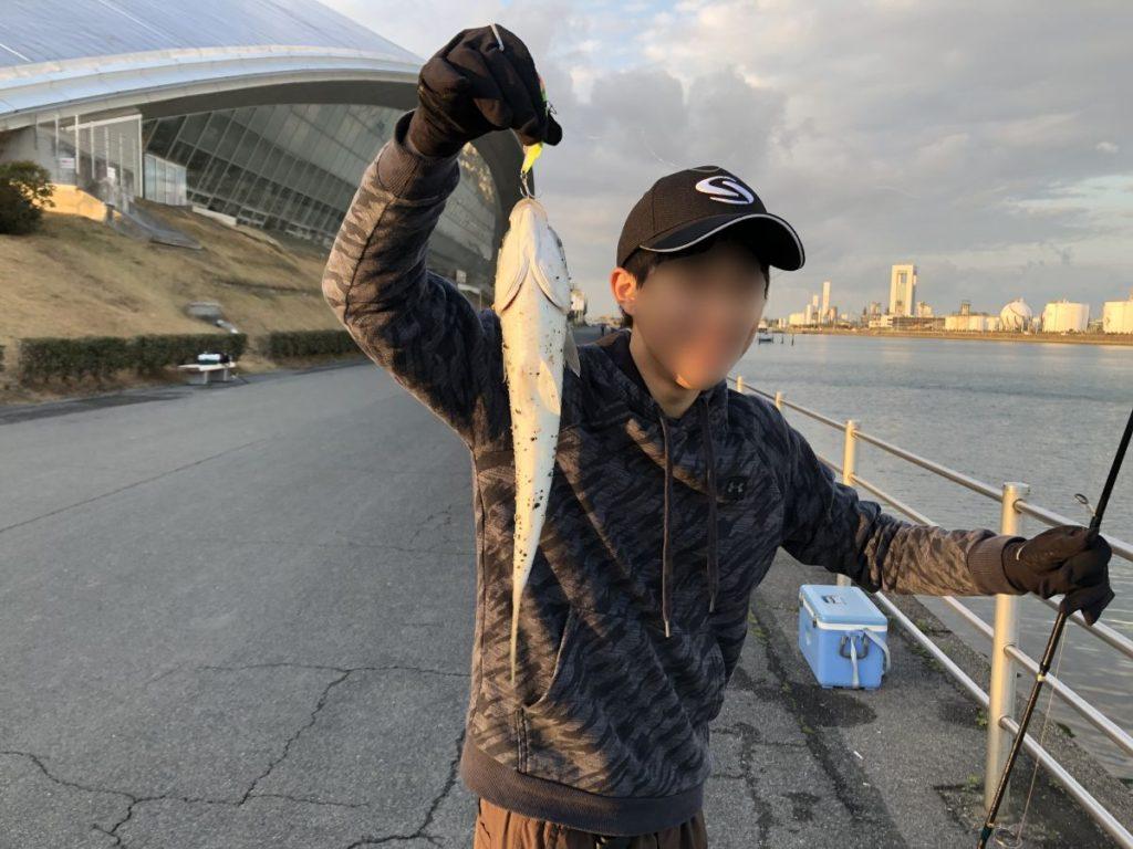 三重のシーバス釣り(ボラ釣り?)(2020/3/14)