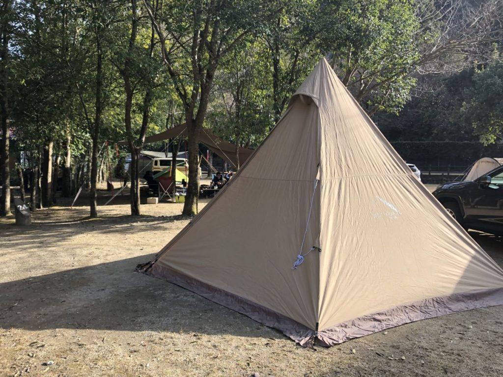 年末キャンプ in 下北山スポーツ公園
