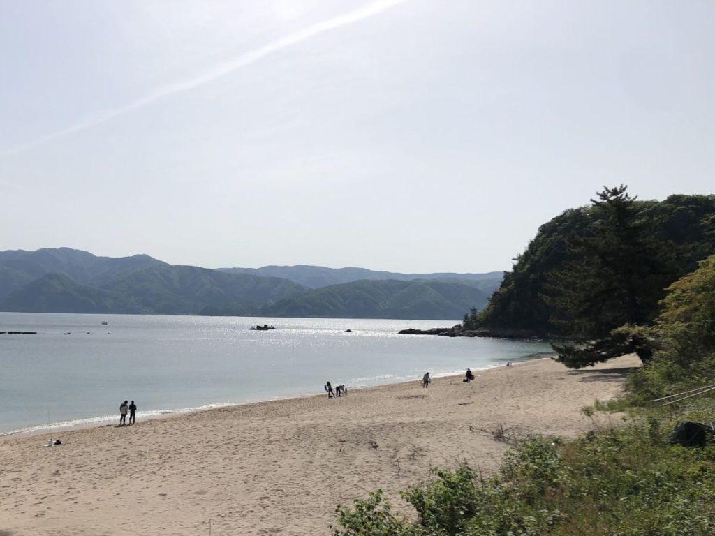 キス釣りからの赤礁崎オートキャンプ場(2021/5/4)